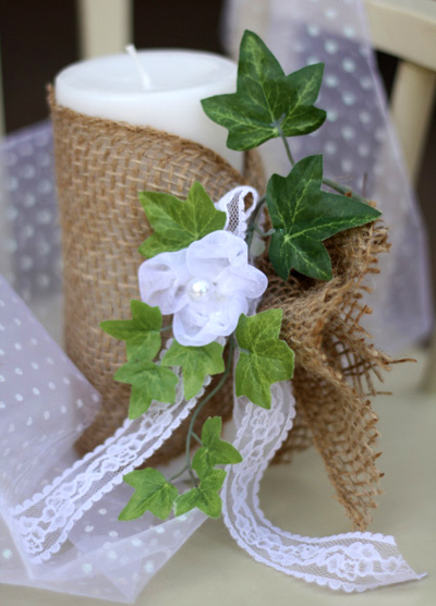 burlap_and_lace_diy_flower_candle