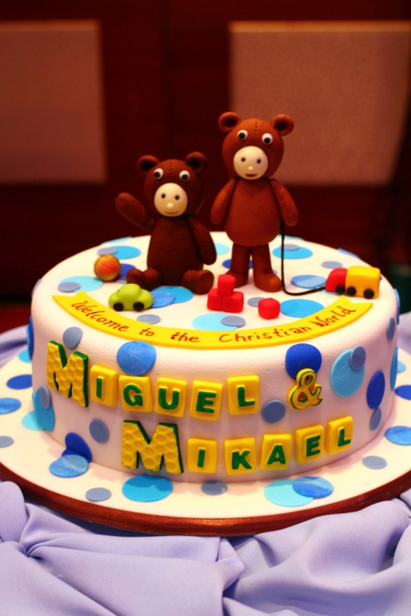 Blue and Brown Teddy Bear Themed Party - 03