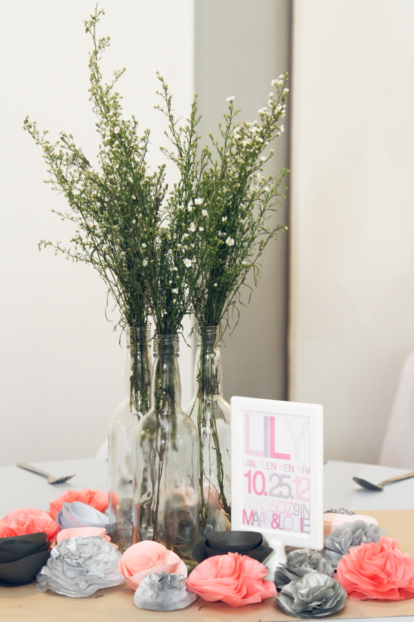 Lillies and Flowers Themed Christening - 03