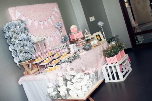 Lillies and Flowers Themed Christening - 12
