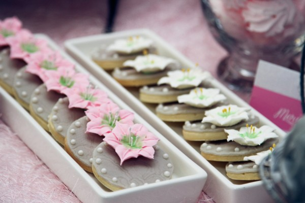 Lillies and Flowers Themed Christening - 21