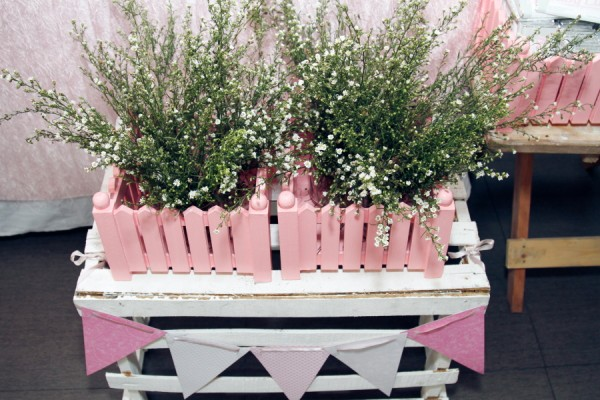 Lillies and Flowers Themed Christening - 33