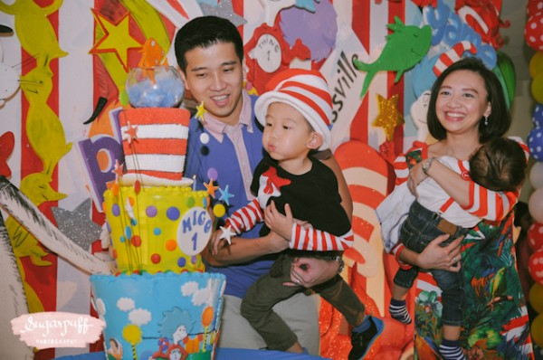 Migo's Dr. Seuss kids birthday party by Sugarpuff Photography - black and white edited-20