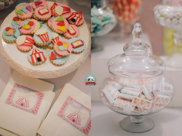Vintage Carnival Birthday Party - 16