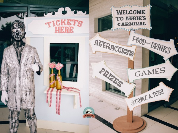 Vintage Carnival Birthday Party - 23