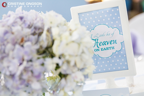 Heaven and Angel Themed Birthday Party - 12