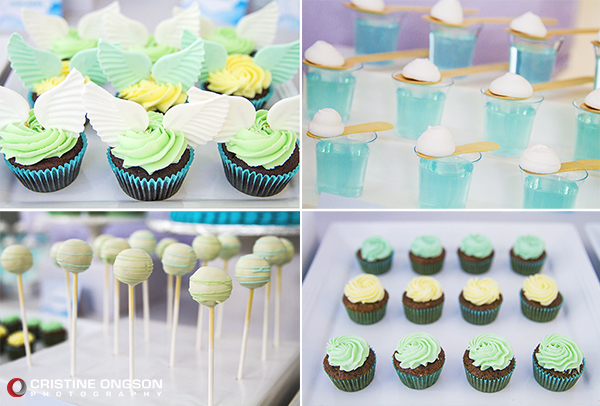 Heaven and Angel Themed Birthday Party - 15