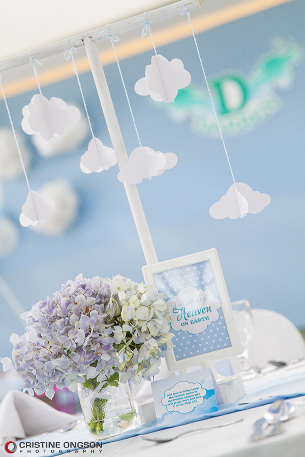 Heaven and Angel Themed Birthday Party - 24
