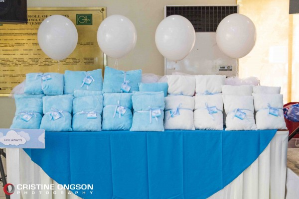 Heaven and Angel Themed Birthday Party - 40