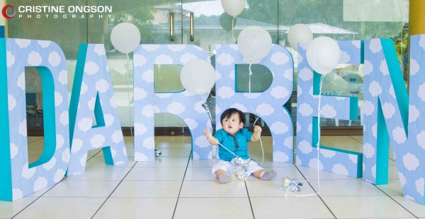 Heaven and Angel Themed Birthday Party - 49