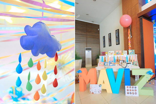 Happy Clouds and Raindrops Party - 03