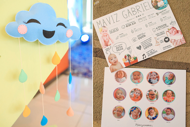 Happy Clouds and Raindrops Party - 04