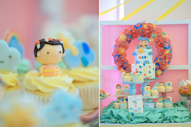 Happy Clouds and Raindrops Party - 13