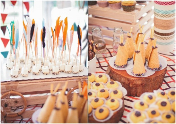 Indian Boy Themed Party Desserts