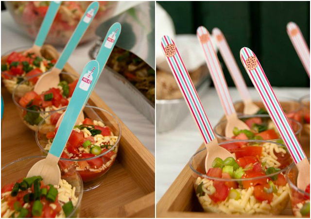 Cookies and Milk Party Spoons