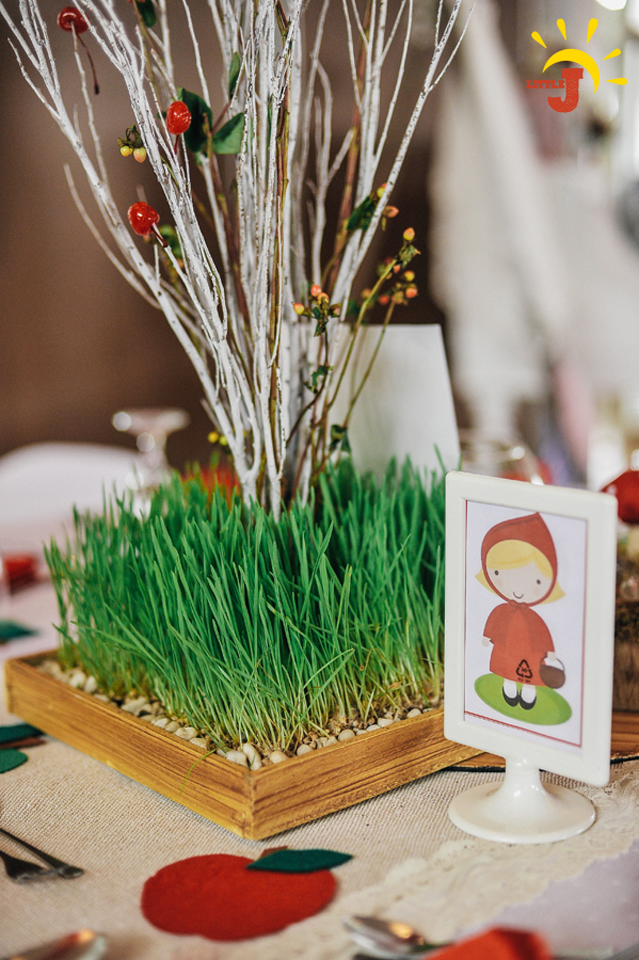 Little Red Riding Hood Birthday Party - 16